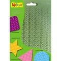 Makin's Clay Texture Sheets 7 X5-1/2 4/Pkg - Set G