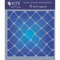 Judikins 6 Inch Square Kite Stencil - Fish Net