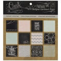 Chalk Studio Designer Paper Pad 6 X6 24/Sheets - Double-Sided