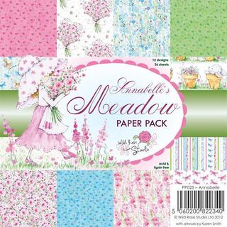 Wild Rose Studio Ltd. 6 X6 Paper Pack 36/Sheets - Annabelle's Meadow