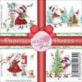 Wild Rose Studio Ltd. 4 X4 Printed Panels 12/Sheets - Annabelle's Christmas
