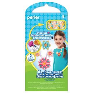 Perler Snap-Ins Fun Fusion Fuse Bead Activity Kit - Daisy Flower