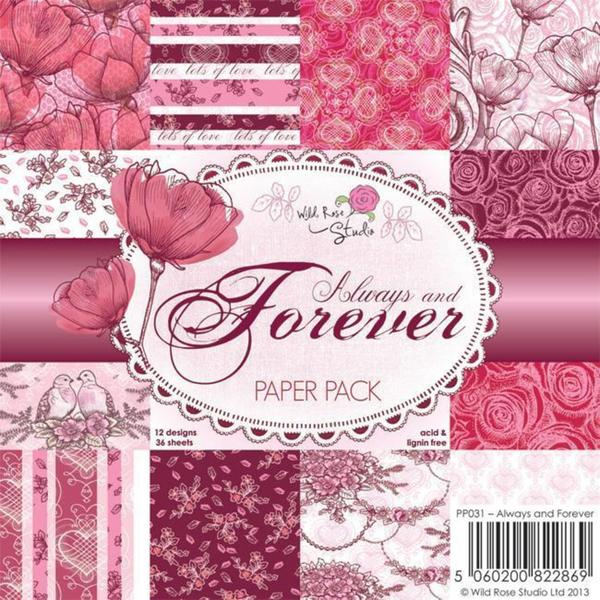 Wild Rose Studio Ltd. 6 X6 Paper Pack 36/Sheets - Always and Forever