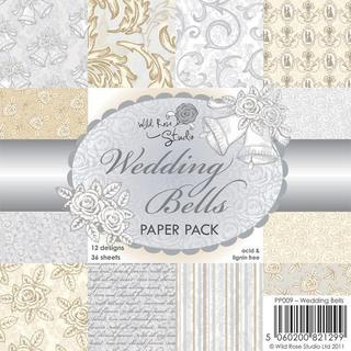 Wild Rose Studio Ltd. 6 X6 Paper Pack 36/Sheets - Wedding Bells