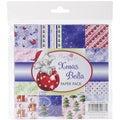 Wild Rose Studio Ltd. 6 X6 Paper Pack 36/Sheets - Christmas Bella