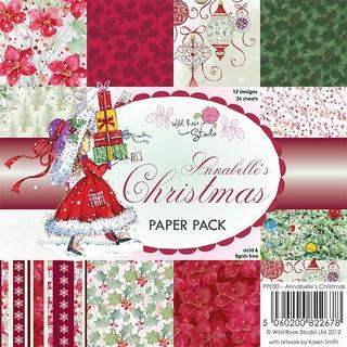 Wild Rose Studio Ltd. 6 X6 Paper Pack 36/Sheets - Annabelle's Christmas