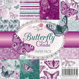Wild Rose Studio Ltd. 6 X6 Paper Pack 36/Sheets - Butterfly Glade