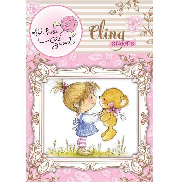 Wild Rose Studio Ltd. Cling Stamp - Emily With Ted