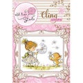 Wild Rose Studio Ltd. Cling Stamp - Emily With Dandelion