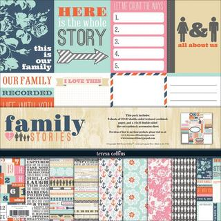 Family Stories Collection Pack 12 X12 -