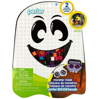 Perler Fun Fusion Fuse BIGGIE Bead Activity Kit - Monster Mask