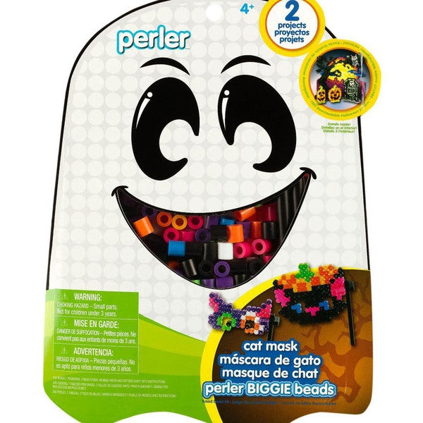 Perler Fun Fusion Fuse BIGGIE Bead Activity Kit - Cat Mask