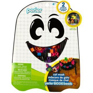 Perler Fun Fusion Fuse BIGGIE Bead Activity Kit - Cat Mask
