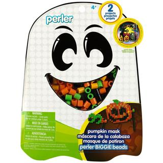 Perler Fun Fusion Fuse BIGGIE Bead Activity Kit - Pumpkin Mask