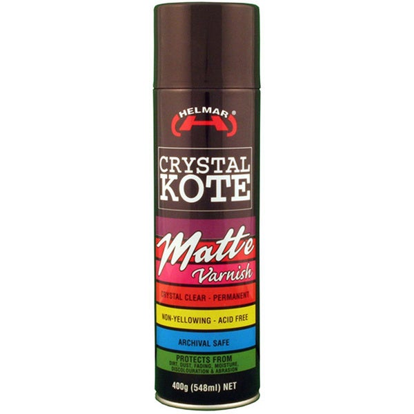Crystal Kote Matte Varnish 14.11oz -