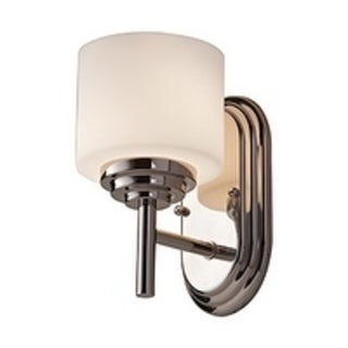 1-light Polished Nickel Vanity Fixture