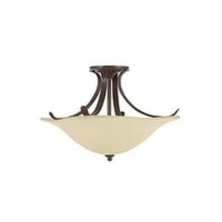 3-light Indoor Semi-flush Mount