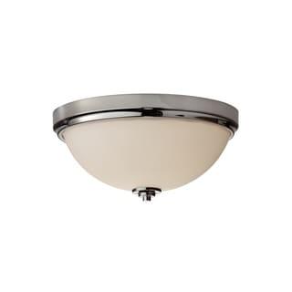 2-light Indoor Flush Mount