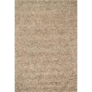 Hand-tufted Dawson Beige Wool Rug (7'10 x 11'0)