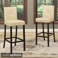 Baxton Studio Asher Modern Bar Stools (Set of 2)