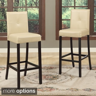 Baxton Studio Asher Modern Bar Stools (Set of 4)