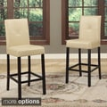 Baxton Studio Asher Modern Counter Stools (Set of 4)