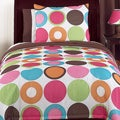 Sweet Jojo Designs Girl's 'Deco Dot Modern' 4-piece Twin Comforter Set