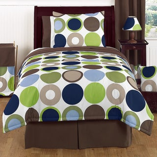 Sweet Jojo Designs Boys 'Dot Modern' 4-piece Twin Comforter Set