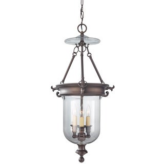 3-light Oil Rubbed Bronze Hall Chandelier