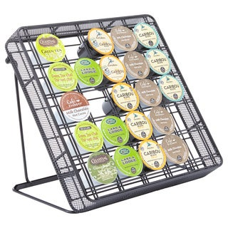 Onyx Stand-Up Coffee Pod Storage Organizer