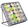 Onyx Black Stand-Up Coffee Pod Organizer