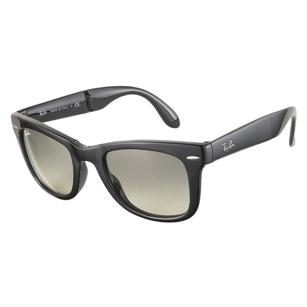 Ray-Ban RB4105 601 32 Folding Wayfarer Black 50 Sunglasses