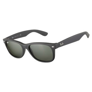 Ray-Ban RB2132 622 Black Rubber 55 Sunglasses