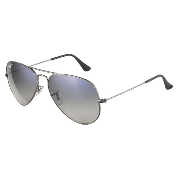 Ray-Ban RB3025 004 78 Gunmetal Polarized 58 Sunglasses