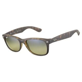 Ray-Ban RB2132 894 76 Matte Havana Polarized 55 Sunglasses