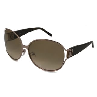 Givenchy Women's SGV418M Rectangular Sunglasses