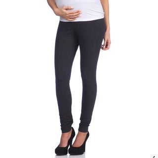 Ashley Nicole Maternity Women's Grey Belly Band Leggings