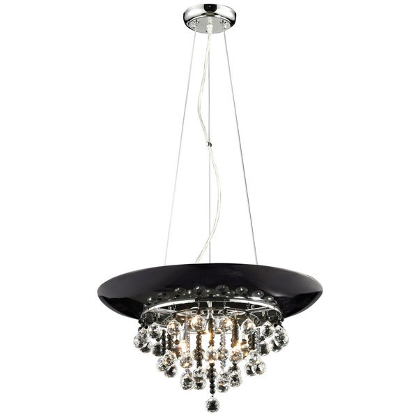 Nines 3-light Chrome and Crystal Pendant