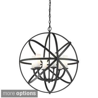 Aranya 6-light Orbit Pendant