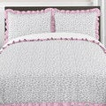 Sweet Jojo Designs Girls Kenya 3-piece Full/Queen Comforter Set