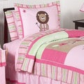 Sweet Jojo Designs Girls 'Jungle' 3-piece Full/Queen Comforter Set