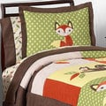 Sweet Jojo Designs Unisex 'Woodland Forest Animals' 3-piece Full/Queen Comforter Set