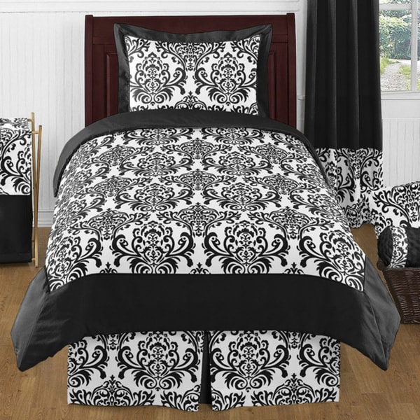 Sweet Jojo Designs Girls 'Isabella' 4-piece Twin Comforter Set