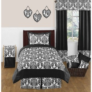 Sweet Jojo Designs Girls 'Isabella' 4-piece Twin Comforter Set