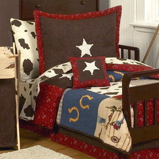 Sweet Jojo Designs Boy 5-piece Western Toddler Comforter Set