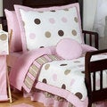 Sweet Jojo Designs Girl 5-piece Polka Dots Toddler Comforter Set