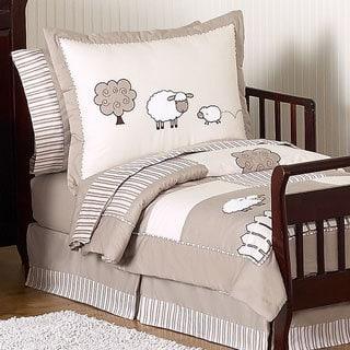 Sweet Jojo Designs Unisex 5-piece Little Lamb Toddler Comforter Set