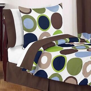 Sweet Jojo Designs Boys 5-piece Dots Toddler Comforter Set