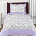 Sweet Jojo Designs Girls 4-piece Elizabeth Twin Comforter Set