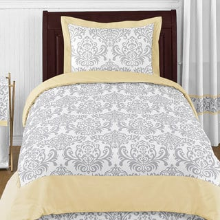 Sweet Jojo Designs Unisex 4-piece Avery Comforter Set